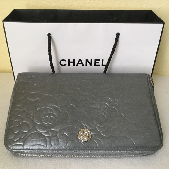 24b0ab015ac639 CHANEL Handbags - Chanel Compact Organizer Wallet Lambskin Leather